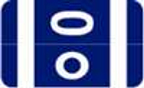 Smead Alphabetic Labels - Alpha-Z ACC Series (Rolls) O- Dk. Blue