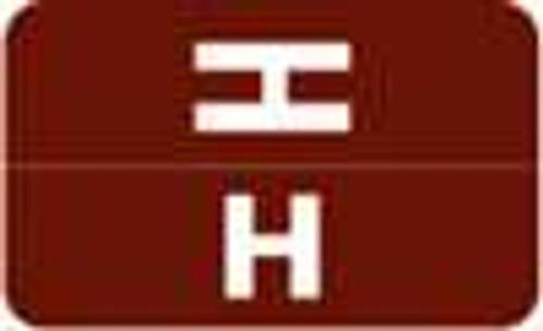 Smead Alphabetic Labels - Alpha-Z ACC Series (Rolls) H- Dk. Brown