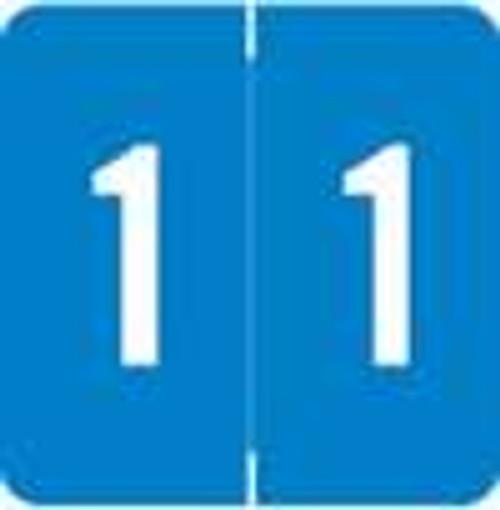 Smead/Barkley Numeric Label - FNSDM Series (Rolls) - 1 - Blue