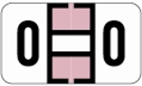 SafeGuard Alphabetic Labels - 514 Series (Rolls) O- Lavender