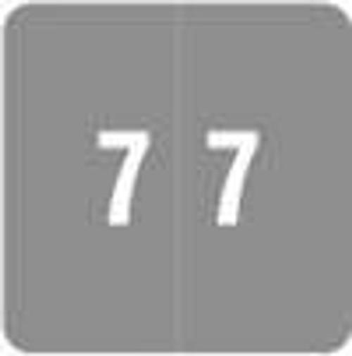 Smead Numeric Label - DCC Series (Rolls) - 7 - Gray