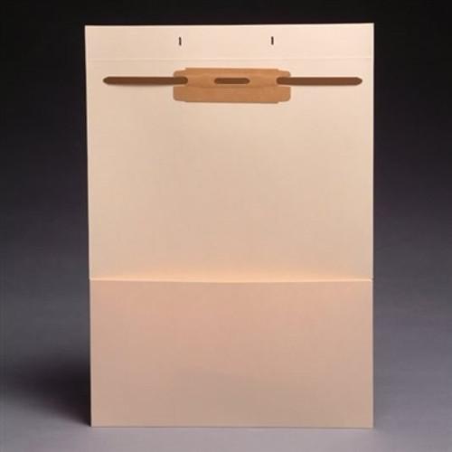 Blank Fileback Divider Sheets w/ 1/2 Pocket - Top Flap & Divider - 100/Box