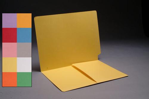 End tab pocket folder lavender 14 pt S-9011-lav
