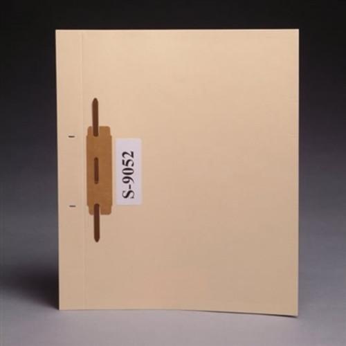 Blank Fileback Divider Sheets - Side Flap & Divider with bonded fastener - 100/Box