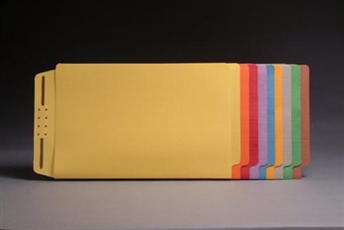 End Tab Casebinders - Letter Size - Full Cut Tabs - 50/Box - Green