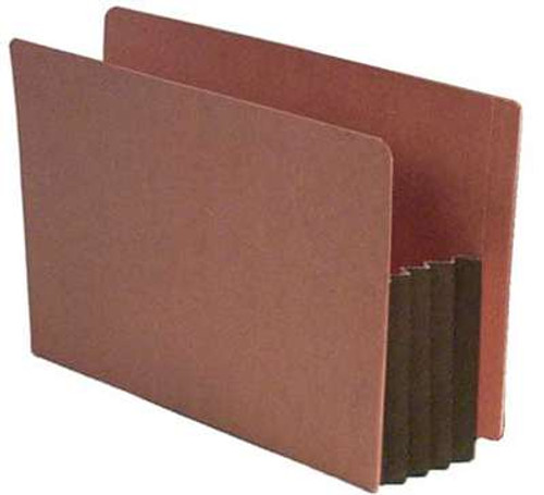 "End Tab File folder with 3.5"" Accordion Expansion - Legal - Carton of 100"
