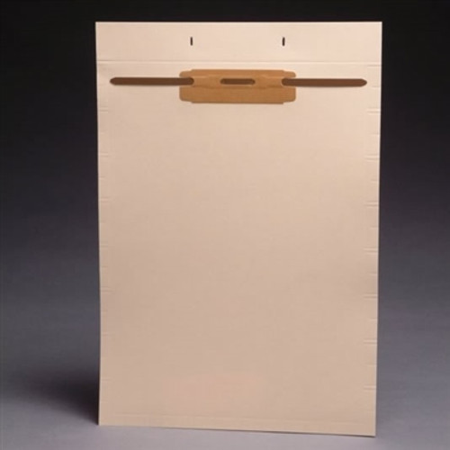 Blank Fileback Divider Sheets - Top Flap & Divider - With Fastener at top - 100/Box