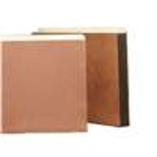 "Redweld Expanding File folder, 3 1/2"" Accordion Expansion, Paper Gusset, Legal Size - Full Height Gusset 2 - Carton of 50"