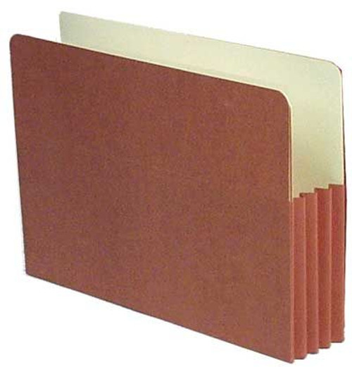 Redweld File folder with 3.5 Accordion Expansion, Paper Gusset, Legal Size; Box of 50