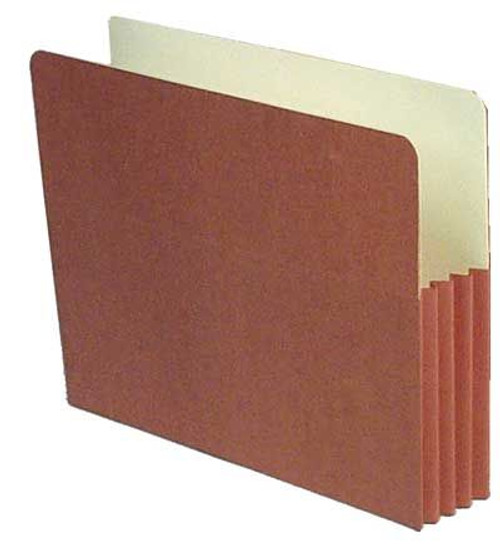 "Redweld File folder with 3.5"" Accordion Expansion and Paper Gusset, Letter Size, Carton of 50"