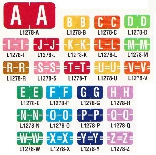 Tab Mini-Labels