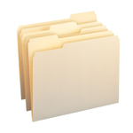 Manila File Folders with Single-Ply Tab
