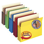 Colored File Pockets