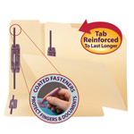 Fastener Folders with SafeSHIELD Fasteners