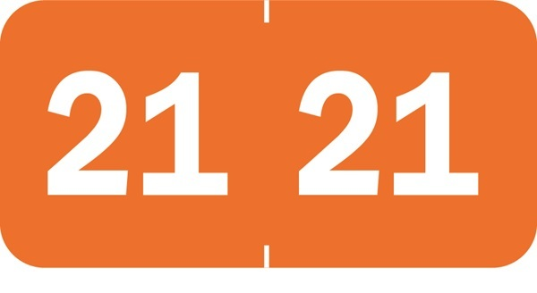 70200 Yearcode Labels