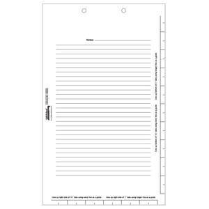 Legal Index Divider Sheets