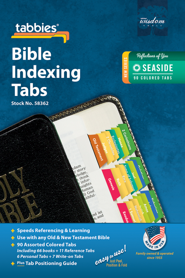 Reflections of You Bible Indexing Tabs