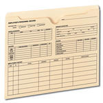 Employee Record File Jackets