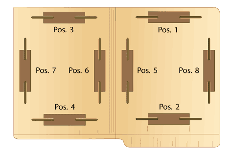 Folders With Fastener