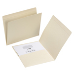Manila File Folder with Pocket