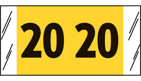 14700 Yearcode Labels
