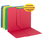 3-in-1 SuperTab Section Folder