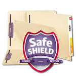 End Tab Fastener Folders with SafeSHIELD