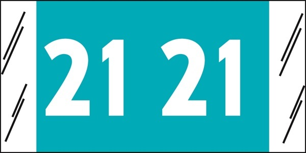 81700 Yearcode Labels