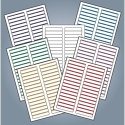 Avery Compatible Laser/Inkjet File Folder Labels