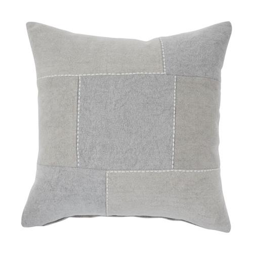 Lareina Gray/Tan Pillow (4/CS)