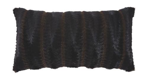 Elvena Brown/Black Pillow (4/CS)