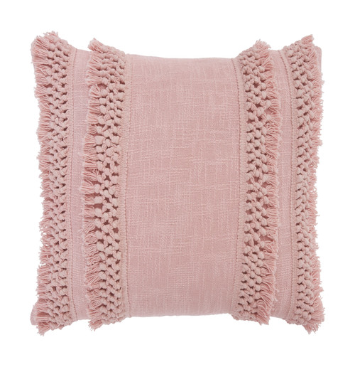 Janah Blush Pink Pillow (4/CS)
