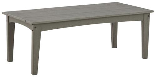 Visola Gray Rectangular Cocktail Table