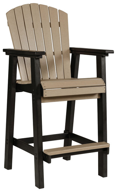 Fairen Trail Black/Driftwood Tall Barstool (2/CN)