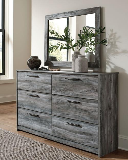 Baystorm Gray Dresser, Mirror