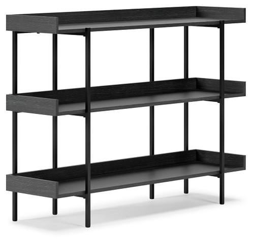 Yarlow Black Bookshelf
