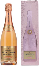 Heidsieck & Co. Monopole Rose Top NV In Gift Box (75cl)