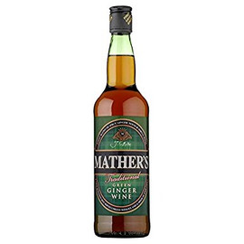 Mathers Green Ginger Wine (70cl)