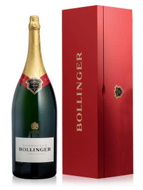 Bollinger Special Cuvee NV Salmanazar In Red Wood Box (9Ltr)