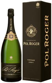 Pol Roger Brut Vintage 2009 Magnum In Gift Box (1.5Ltr)