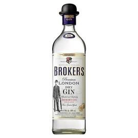 Brokers Premium Gin (70cl)