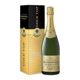 Heidsieck & Co. Monopole Gold Top 2009 In Gift Box (75cl)