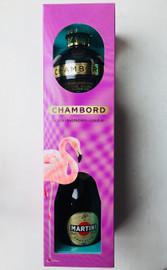 Chambord & Martini Prosecco Gift Pack (2 x 20cl)