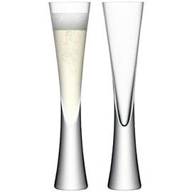 LSA Moya Champagne Flutes (170ml) set of 2