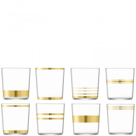 LSA Deco Tumbler 390ml (Set of 8)