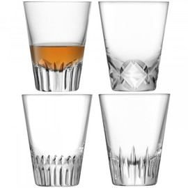 LSA Tatra Tumbler 225ml (Set of 4)