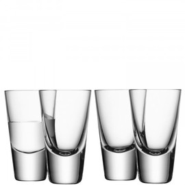 LSA Bar Vodka Glass 100ml (Set of 4)