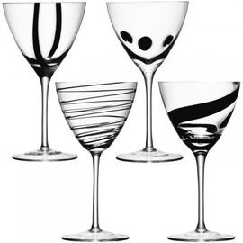 LSA Jazz Wine Goblet 420ml (Set of 4)