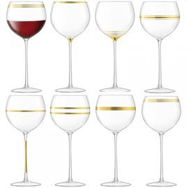 LSA Deco Wine Goblet 525ml (Set of 8)