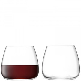 LSA Stemless Wine Glass 385ml (Set of 2)